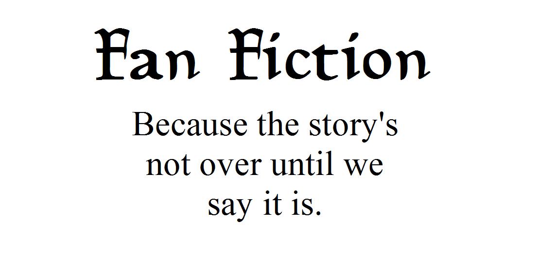 My fan fiction